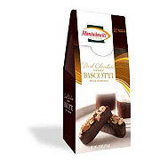 Manischewitz Dark Chocolate Covered Biscotti with Almonds