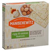 Manischewitz Egg and Onion Matzos