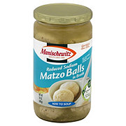 Manischewitz Reduced Sodium Matzo Balls in Broth