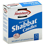 Manischewitz Shabbat Candles