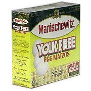 Manischewitz Yolk Free Egg Matzo