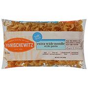 Manischewitz Yolk Free Extra Wide Noodle Style Pasta