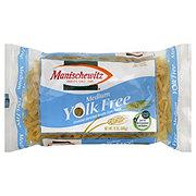 Manischewitz Yolk Free Medium Noodle Style Pasta