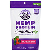 Manitoba Harvest Hemp Protein Smoothie Mixed Berry Flavor