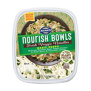 Mann's Nourish Bowl Veggie Noodle Basil Pesto