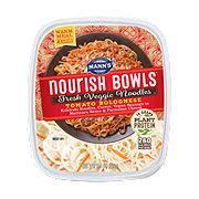Mann's Nourish Bowl Veggie Noodle Tomato Bolognese