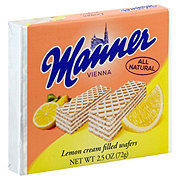 Manner Lemon Cream Filled Wafers