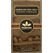 Manoa Hawaiian Sea Salt 72% Chocolate