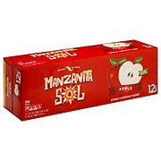 Manzanita Sol Manzana Apple Soda 12 oz Cans