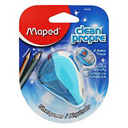 Maped Clean 2 Hole Pencil Sharpener Assorted