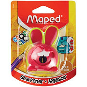 Maped Croc Croc Innovation Bunny One Hole Pencil Sharpener, Colors May Vary