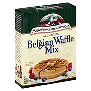 Maple Grove Farms Farms Of Vermont All Natural Belgian Waffle Mix