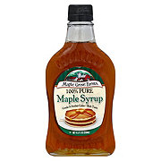 Maple Grove Farms Farms Of Vermont Pure Maple Syrup