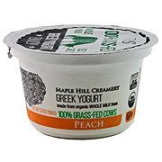 Maple Hill Creamery Peach Greek Yogurt