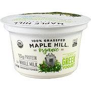 Maple Hill Creamery Plain Grass Fed Greek Yogurt