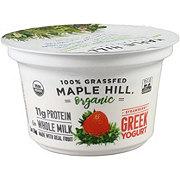 Maple Hill Creamery Strawberry Grass Fed Greek Yogurt