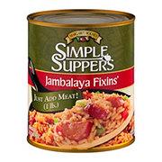 Margaret Holmes Simple Suppers Jambalaya Fixins'