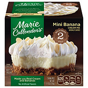 Marie Callender's 2 Mini Banana Cream Pies