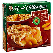 Marie Callender's Lattice Peach Pie