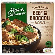 Marie Callender's Tender Ginger Beef & Broccoli Bowl