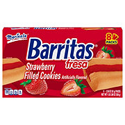 Marinela Barritas Fresa Strawberry Filled Fruit Bars