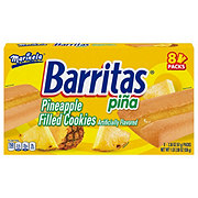 Marinela Barritas Pina Barritas Pina Pineapple Filled Cookies