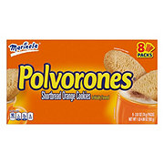 Marinela Polvorones Shortbread Orange Cookies