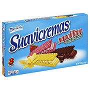 Marinela Suavicremas Vanilla Strawberry and Chocolate Creme Filled Wafers