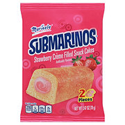 Marinela Submarinos Strawberry Flavor Cream-Filled Cakes