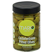 Mario Castelvetrano Pitted Green Olives