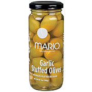 Mario Garlic Stuffed Olives