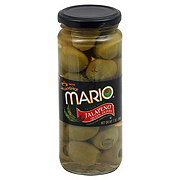 Mario Jalapeno Queen Olives Stuffed with Jalapeno Paste