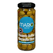 Mario Low-Salt  Manzanilla Stuffed Olives