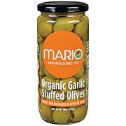 Mario Organic Garlic Stuffed Olives