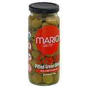 Mario Organic Green Olives Stuffed with Pimiento