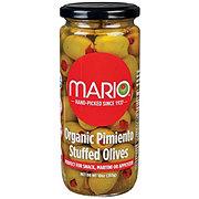 Mario Organic Pimiento Green Stuffed Olives