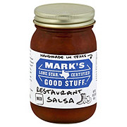Mark's Good Stuff Lone Star Certified Medium Restaurant Salsa