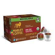 Marley Coffee Organic One Love Ethiopia Yirgacheffe Medium Roast RealCup Coffee