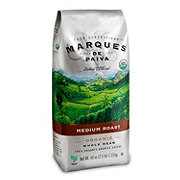 Marques De Paiva Organic Medium Roast Whole Bean Coffee