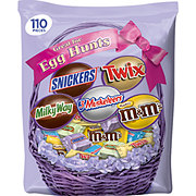 Mars Chocolate Easter Candy Spring Variety Mix 110-Piece Bag