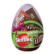Mars Chocolate & More Easter Fun Size Candy Variety Mix in Easter Egg