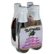 Martinellis Gold Medal Sparkling Red Grape 4 Pack