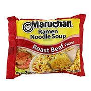 Maruchan Beef Flavor Ramen Noodle Soup Roast