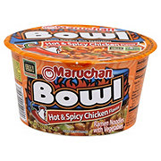 Maruchan Instant Bowl Hot and Spicy Chicken Flavor