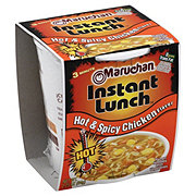 Maruchan Instant Lunch Hot & Spicy Chicken Flavor Ramen Noodles