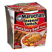 Maruchan Instant Lunch Hot and Spicy Beef Flavor