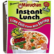 Maruchan Instant Lunch Lime Chili Flavor with Shrimp