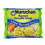 Maruchan Lime Shrimp Flavor Ramen Noodle Soup