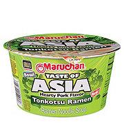 Maruchan Taste Of Asia Hearty Pork Flavor Tonkotsu Ramen Bowl