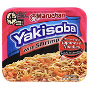 Maruchan Yakisoba with Shrimp